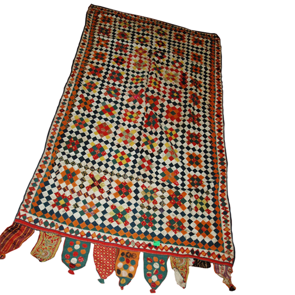 Patchwork West Kutch Bed cover