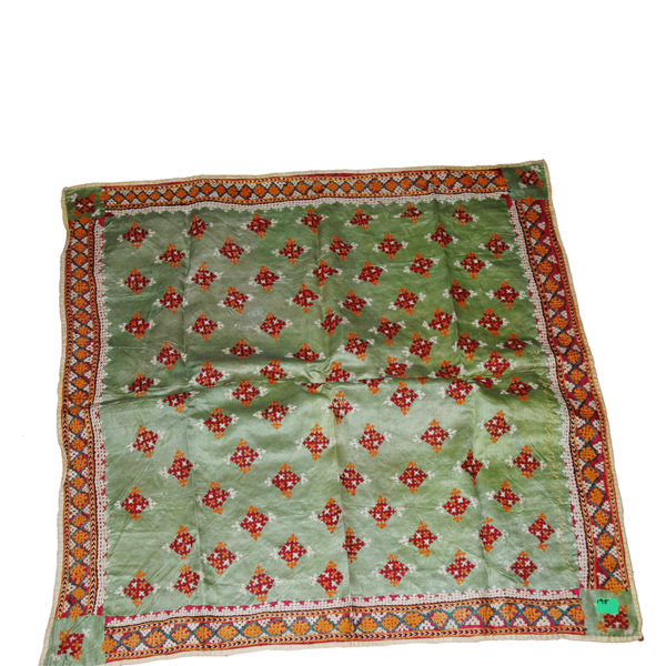 Chackla - Jain, Silk used in Jain Temples West Kutch
