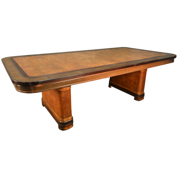 Art deco rectangular dining table tables furniture