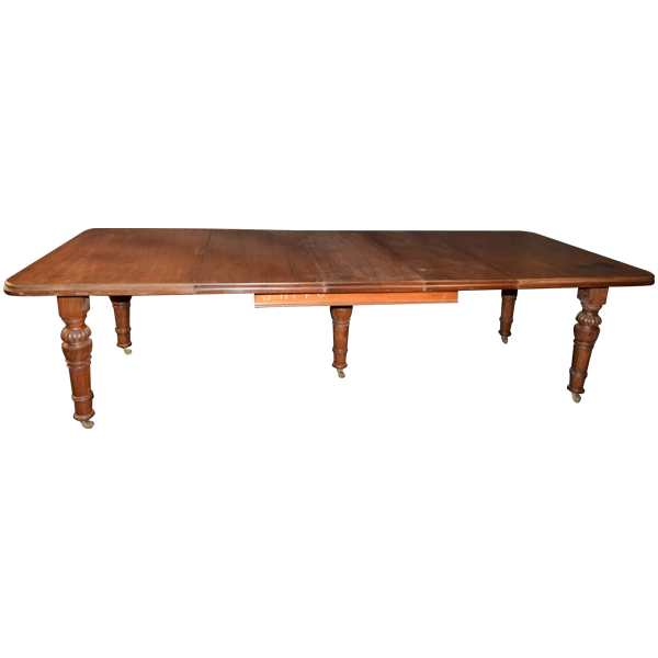 British Colonial, Teakwood,Expandable Dining Table
