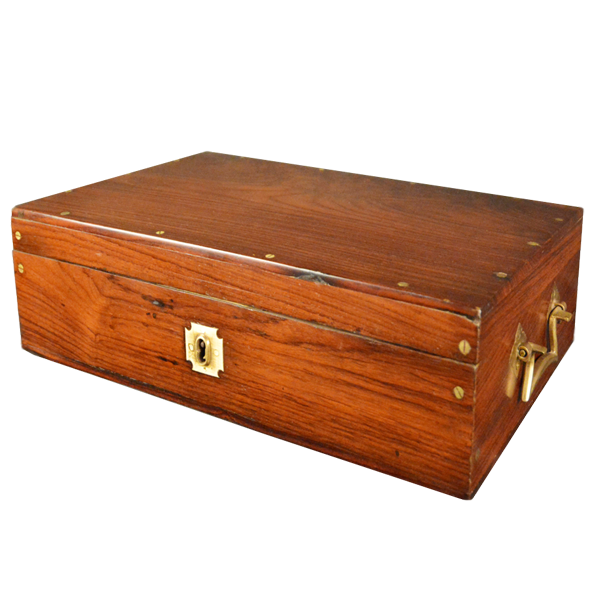 Rosewood, Malabar, Cash Box. Opens To Reveal A Fitted Interior.